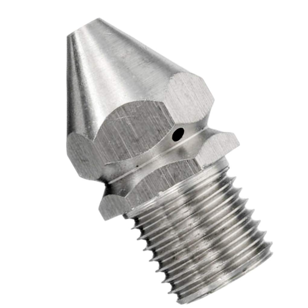 Republe 1/4 Inches Pressure Washer Drain Sewer Cleaning Pipe Jetter Spray Nozzle Stainless Steel