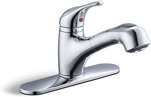 Glacier Bay Kitchen Faucet – Chrome 1-Handle Kitchen Faucet