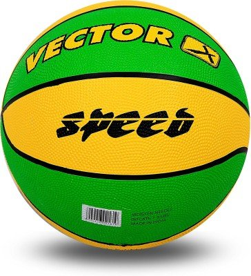 Vector X Speed Basketball   Size: 7 Yellow,Green