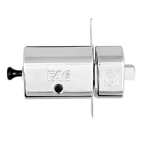 FAC 446-RP/80 - Cerrojo MAGNET UVE, acabado níquel