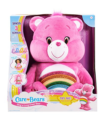 Care Bears Cheer Sing-a-Long Bear Plush - Care Bears Cheer Bear Plush