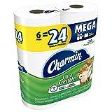 Charmin Mega Rolls Ultra Gentle, 6 ea (Pack of 3)