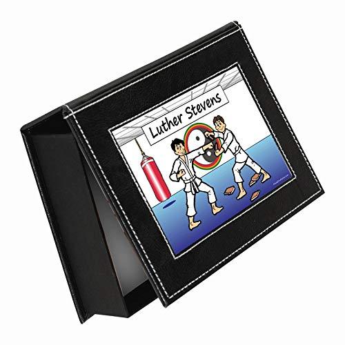 - Printed Perfection Personalized NTT Martial Arts Male Keepsake - Photo - Jewelry - Memory Box Martial Arts, Tae Kwon Do, Kick Boxing, jiu Jitsu, Judo