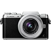 Panasonic DMC-GF7 Mirrorless Digital Camera (DSLM) with 12-32 mm Kit Lens (Black) - International Version (No Warranty)