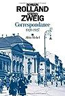 Correspondance, tome 2 : 1920-1927 par Zweig