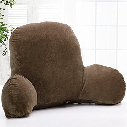 1 opinioni per Kenmont-Cuscino schienale per supporto lombare, cuscino per lettura marrone