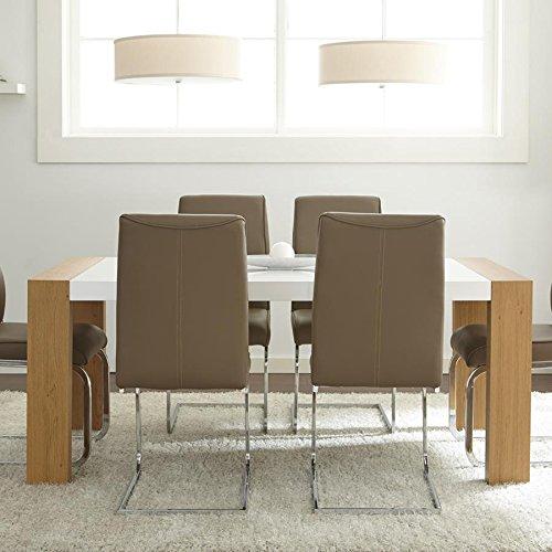 Scarlett Dining Table in Light Oak