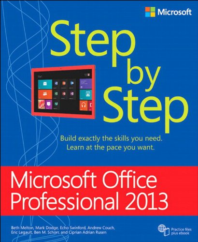 Microsoft Office Professional 2013 Step by Step Pdf
