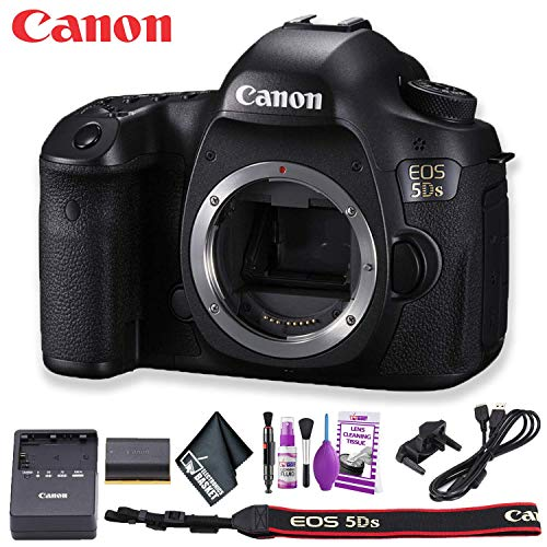 Canon EOS 5DS DSLR Camera (International Model) Basic Kit
