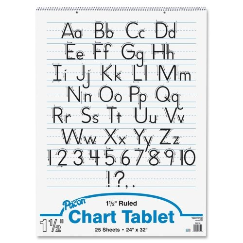 Pacon Ruled Manuscript Chart Tablets - 1 Each by Pacon