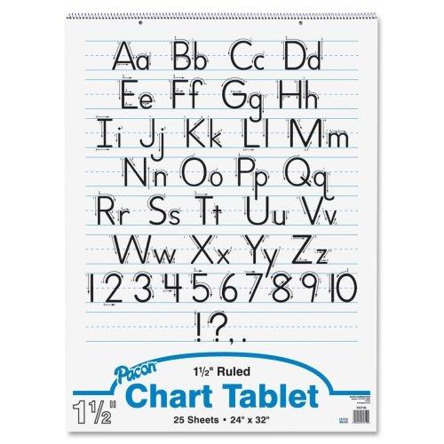 Pacon Ruled Manuscript Chart Tablets - 1 Each