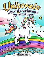 Unicornio Libro De Colorear Para Niños: 50