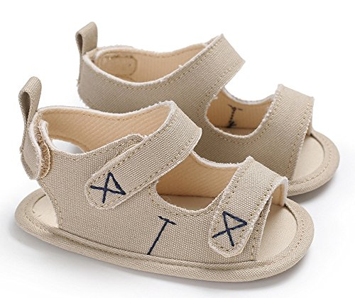IBBShoes Summer 0-1 Year Old Baby Boy Silicone Low-Slip Sandals Baby Toddler Shoes