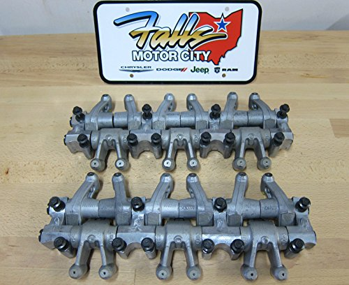 Chrysler Dodge 3.5L 4.0L Engine Rocker Arm Assembly Shaft Lifter Set of 2 OEM Rocker Shaft Set