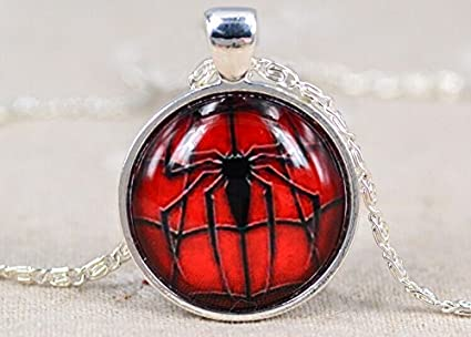 Chain Necklace Personality Cool Spider Black Spider Pendant Gifts Jewelry