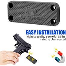Magnetic Gun Mount & Holster For Vehicle And Home, Concealed Holder for Handgun, Rifle, Shotgun, Pistol, Revolver