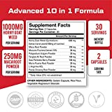 All-Natural Horny Goat Weed Supplement for Men