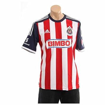 632e656f9 adidas Chivas Guadalajara 2013-14 Official Home Soccer Jersey (3XL)   Amazon.co.uk  Sports   Outdoors