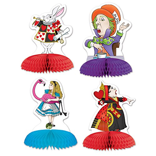 Beistle Alice in Wonderland Mini Centerpieces 5-Inch -