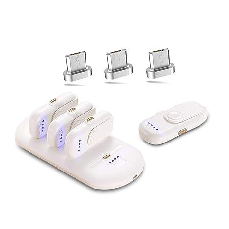 Amazon.com: Umiwe - Mini cargador magnético inalámbrico ...
