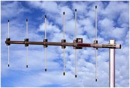 Antena yagi 10 Elementos Banda 2 m 144 MHz, Boom 3,65 m ...