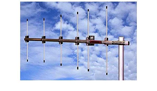 Antena yagi 10 Elementos Banda 2 m 144 MHz, Boom 3,65 m 14,5 ...