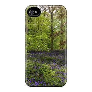 Iphone 4/4s Cover Case - Eco-friendly Packaging(spring Forest) by lolosakes