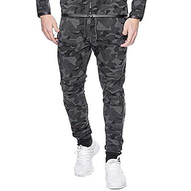 Bellelove - Pantalones de chándal para Hombre Negro XXXL: Amazon ...