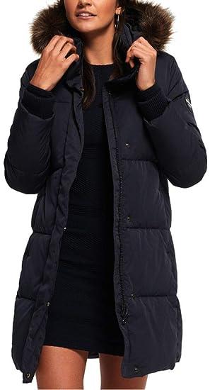 Doudoune longue Superdry femme modèle Cocoon Parka