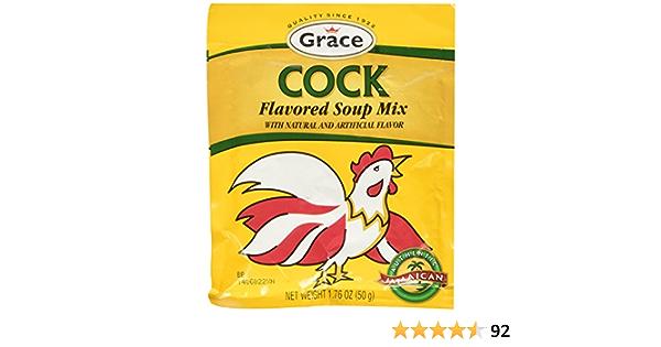 Grace Gracia Gallo de sabores sopa Mix - 1.76 Oz