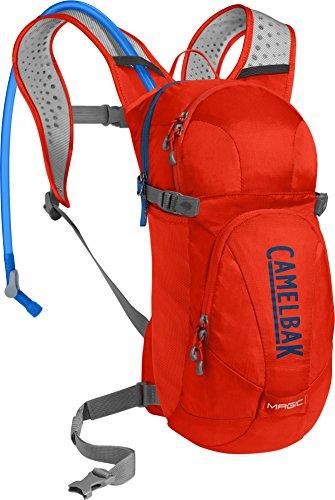 CamelBak Magic Crux Reservoir Hydration Pack, Cherry Tomato/Pitch Blue, 2 L/70 oz ()
