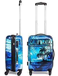 Maui and Sons California Expandable Hardside Spinner Luggage with TSA Lock (20