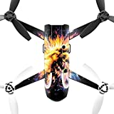 MightySkins Skin for Parrot Bebop 2 – Leo Galaxy | Protective, Durable, and Unique Vinyl Decal wrap Cover | Easy to Apply, Remove, and Change Styles | Made in The USA