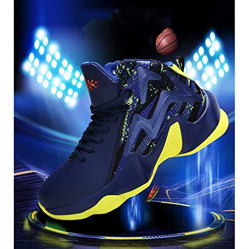 Hommes Sport De Noir ball Printemps Respirant Portables jogging Bottes Haut Hy Pour Chaussures Basket Fitness rouge Slip Bleu automne ons D'entraînement EBnzqn