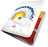 Colorolio Book Folio, Holds Your Adult Coloring Books, Colored Pencils, Pens, Toad's Epiphany