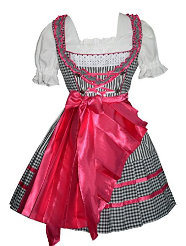 Edelweiss Creek 3-Piece Short German Oktoberfest Pink for sale  Delivered anywhere in USA