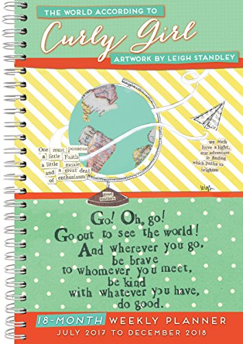 The World According To Curly Girl - Artwork By Leigh
