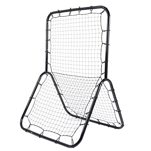 Wishwin Baseball Rebounder Return Field Trainer Throw Practice Pitchback Net Multi-Sport Softball Soccer Throwing Hitting Net Training Screen by Wishwin