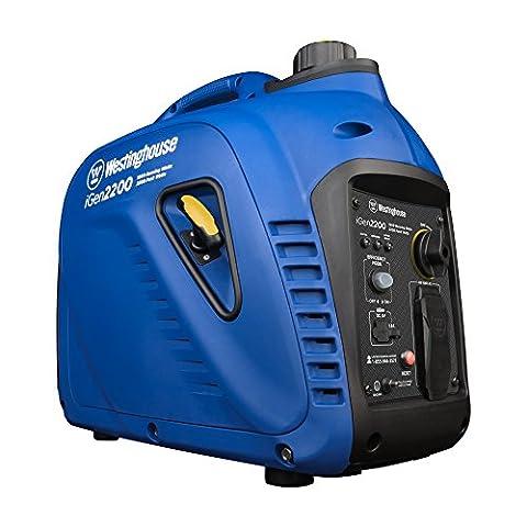 Westinghouse iGen2200 Portable Inverter Generator - 1800 Rated Watts & 2200 Peak Watts - Gas (Portable 2000w Generator)