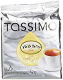 Twinings Earl Grey Tea, T-Discs for Tassimo Brewing Machines, 16 Count, 1.5 Oz, (Pack of 5)