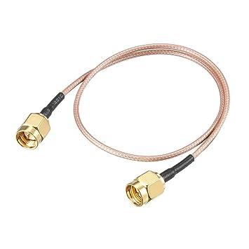 sourcing map Cable coaxial RF de conexión de Baja pérdida RG ...
