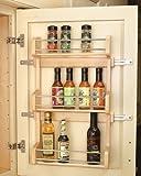 Rev-A-Shelf in. Door Mount Spice Rack RS4SR.18 12.63