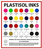 Ecotex Royal Blue NP Plastisol Ink for Screen