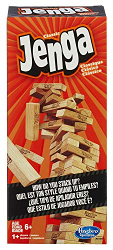 Jenga Classic Game (Fun Games To Play Inside The House)