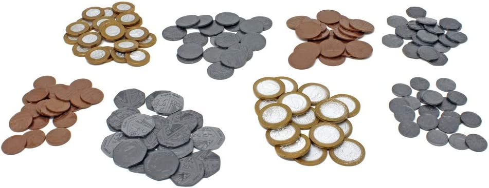 Learning Resources Bulk Play Money Pack Set of 700