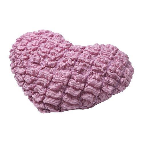 IKEA SARBAR - Cojín, lila corazón - 30x40 cm: Amazon.es: Hogar