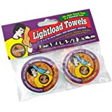 "Lightload Compact Reusable 12x12"" Towels weighs .2 oz.  (2 Pack )"