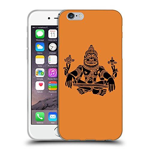 GoGoMobile Coque de Protection TPU Silicone Case pour // Q08120623 Hindou 3 Orange Cadmium // Apple iPhone 7