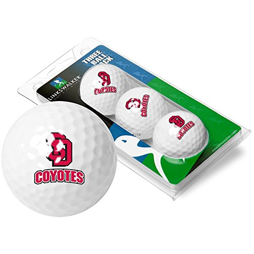 Ball South Dakota Golf (NCAA South Dakota Coyotes - 3 Golf Ball Sleeve)