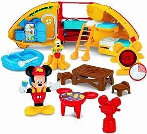 Amazon Com Fisher Price Disney S Mickey Mouse Camper S